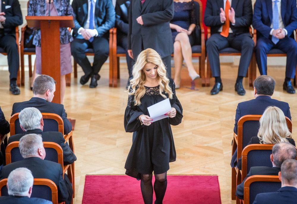 Poslankyňa Martina Šimkovičová. Foto N - Tomáš Benedikovič