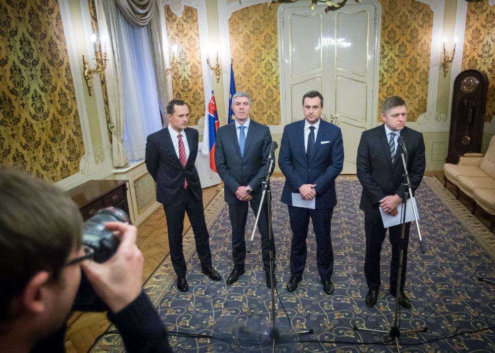 Nová koalícia. Foto N – Tomáš Benedikovič