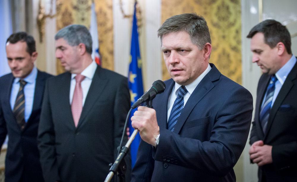 Nová vládna štvorkoalícia. foto N - Tomáš Benedikovič