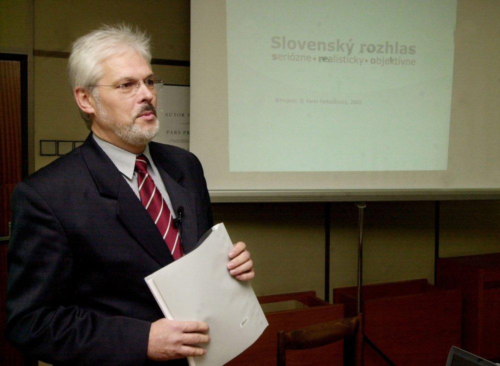Karol Farkašovský. Foto – TASR