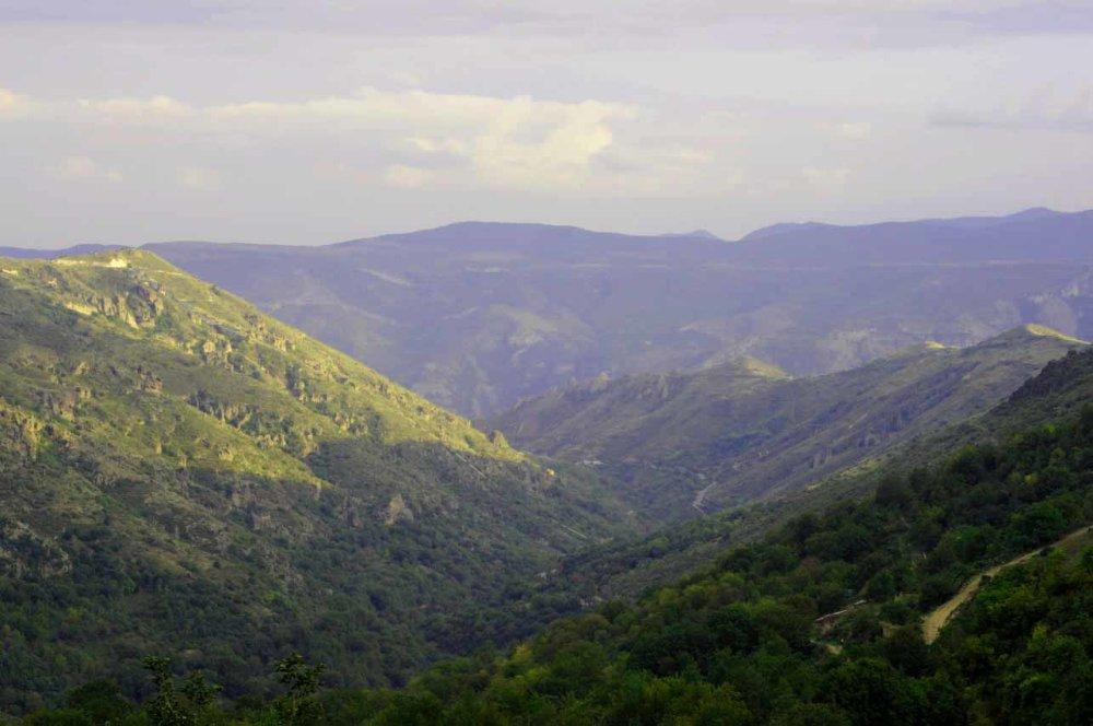 Lačinsky priesmyk. Dlhú dobu jediný prechod z Arménska do Náhorného Karabachu. FOTO - MICHAL POLJAK
