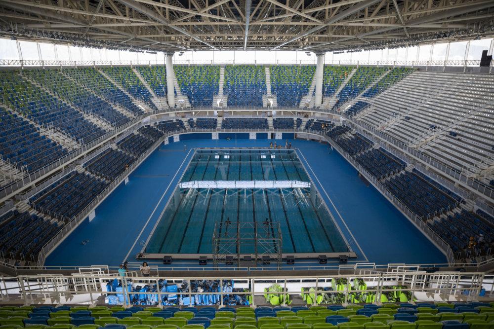 V Olympic Aquatics Stadium budú súťažiť aj naši plavci. Foto - tasr/ap