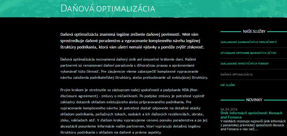 Podľa Belobrada sa dajú dane znižovať aj legálne. Slovenské zákony však hovoria jasne: daní sa tam, kde sa podniká.