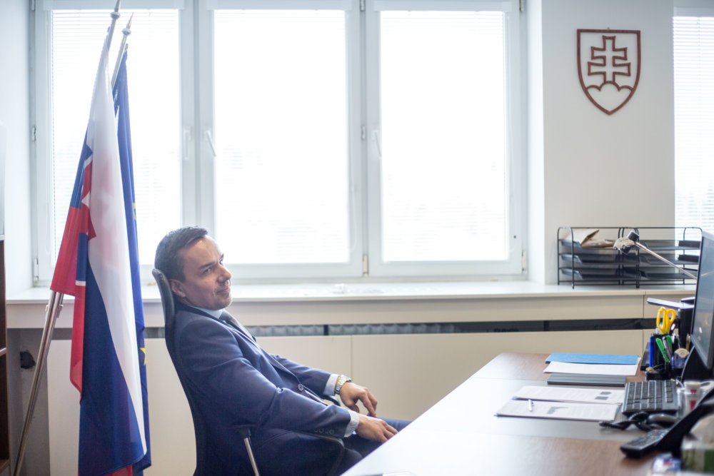 Erik Tomáš. Foto N – Vladimír Šimíček