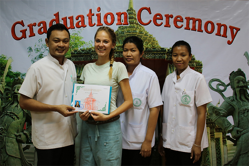 thajská masáž