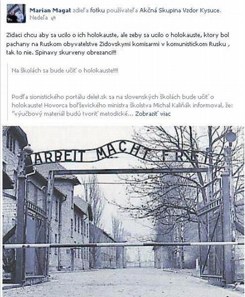 Magát holokaust