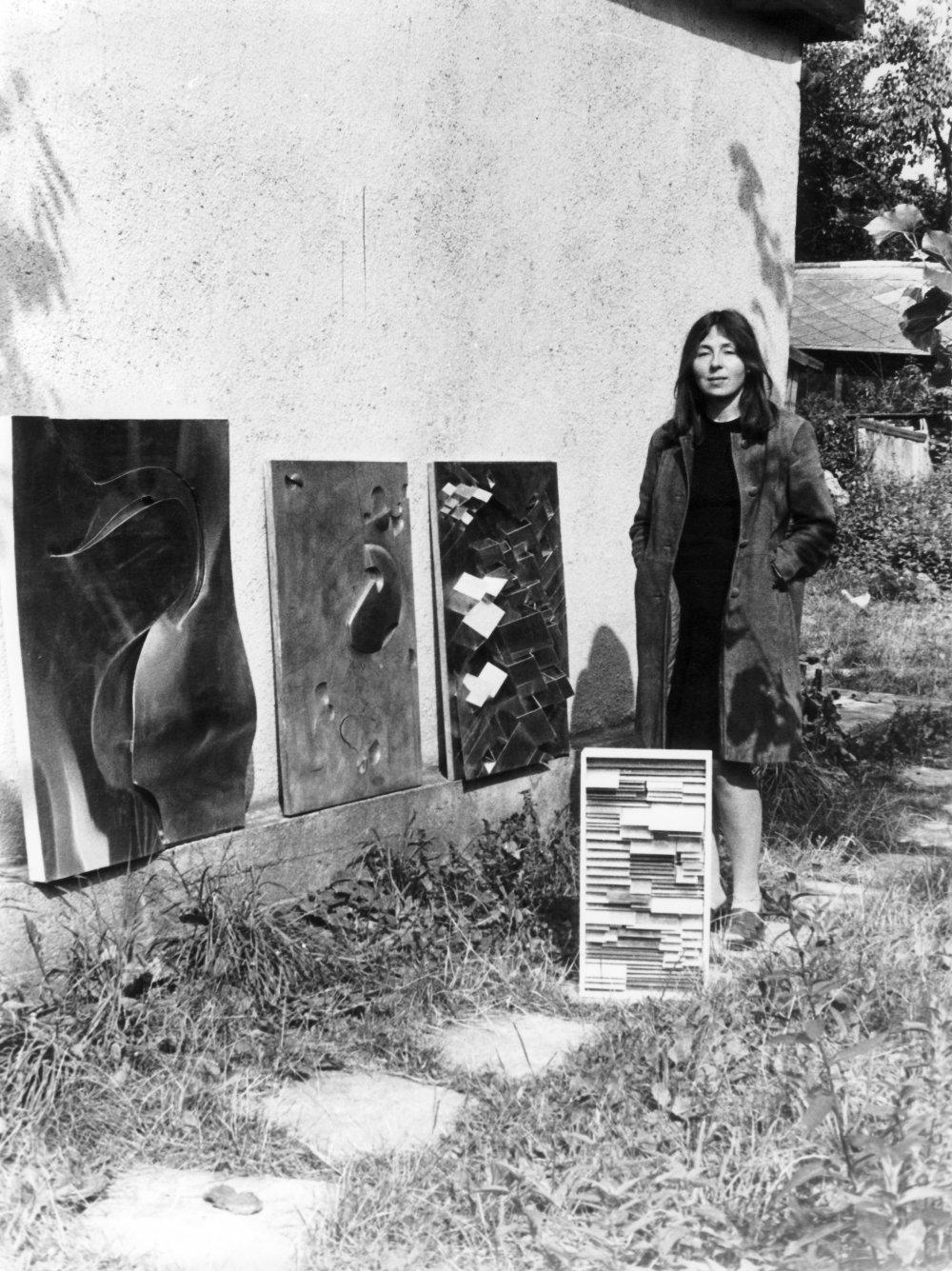 Maria Bartuszová - Kozmická kompozícia, 1972. Foto - Zdeněk Smieško