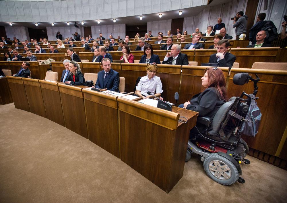 Poslanci parlamentu. Foto N - Tomáš Benedikovič
