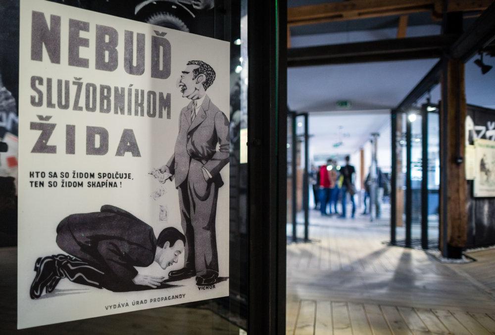 Propaganda Slovenského štátu v Múzeu holokaustu v Seredi. foto N - Tomáš Benedikovič