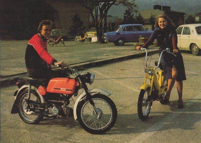 Považské strojárne, pred novembrom 1989 oficiálne pomenované Považské strojárne Klementa Gottwalda, sa preslávili aj motocyklami Jawa, ktorých výroba sem bola presunutá po vojne. Postupne pribudli aj úspešné mopedy Babetta.