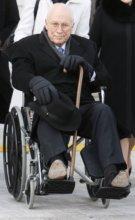 Dick Chaney na inaugurácii Baracka Obamu v roku 2009. Foto – TASR/AP
