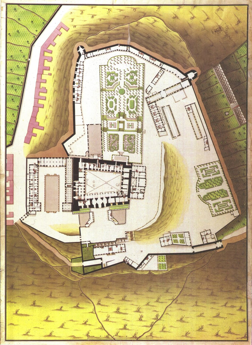 hrad dobovy plan