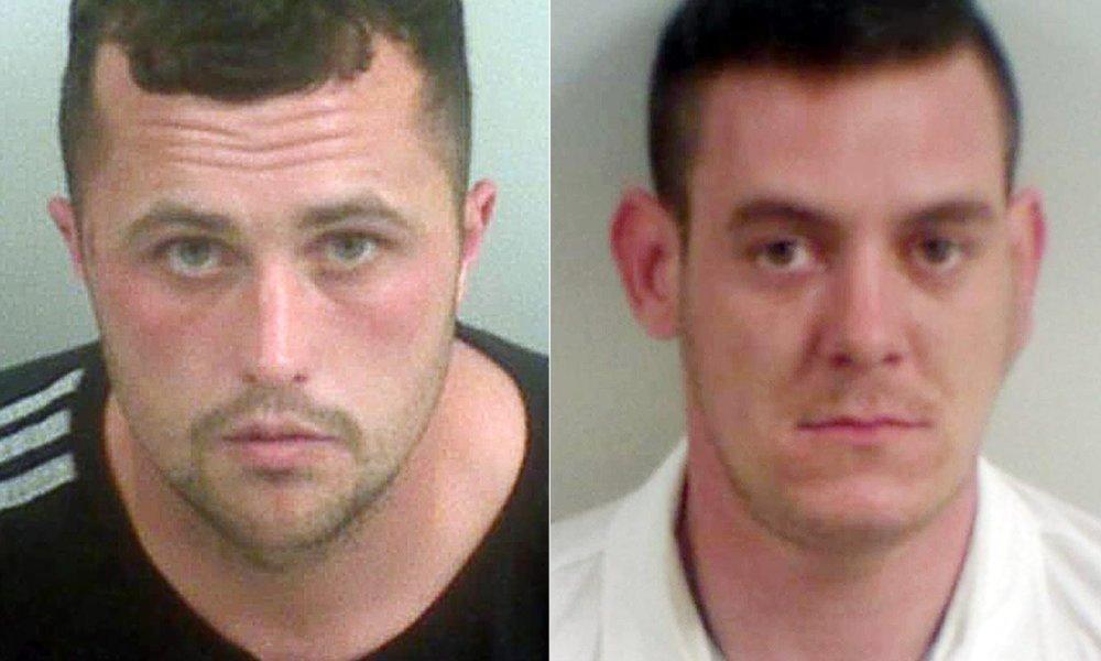 Zadržaní Harry Shilling a Michael Defraine. Foto - National Crime Agency