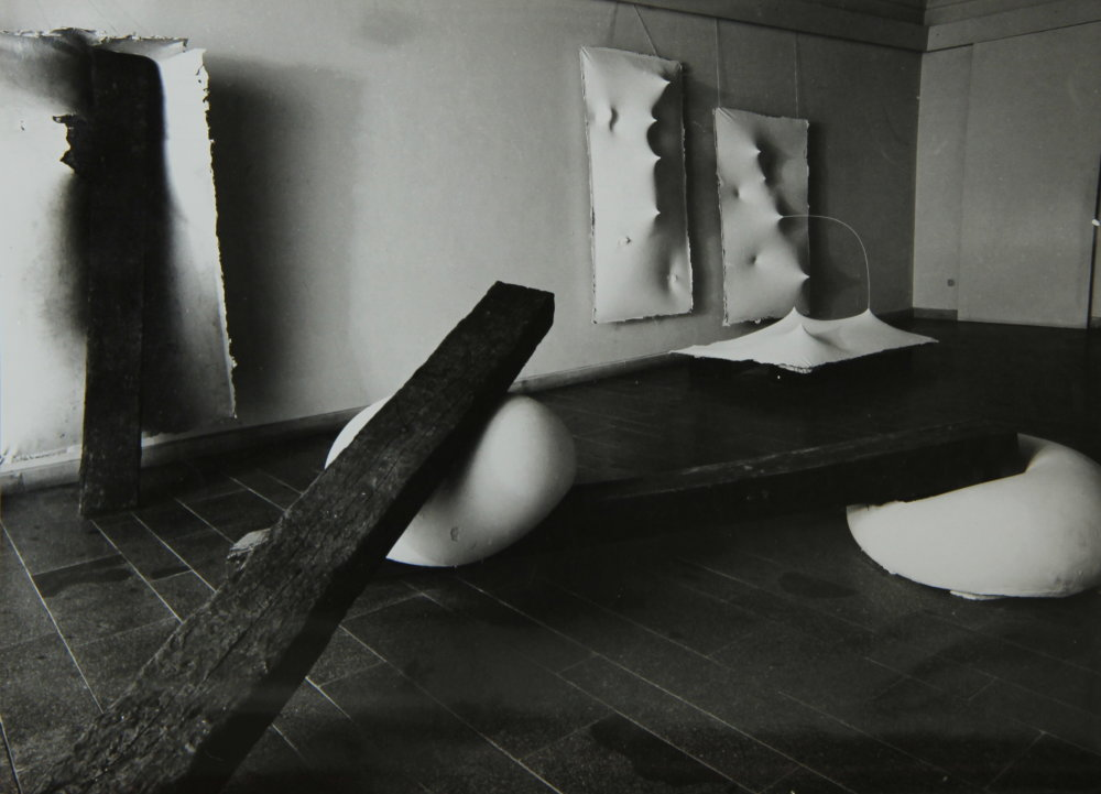 Záber z košickej výstavy, 1988. Foto - archív MB