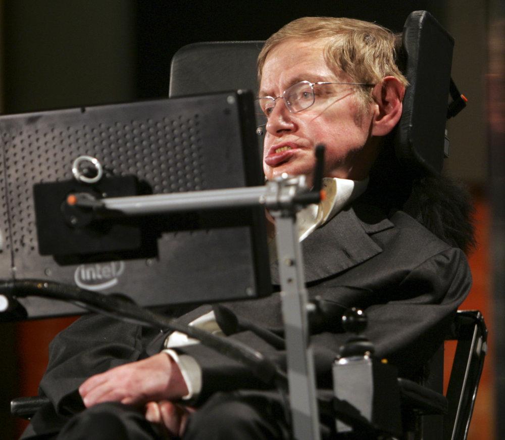 Profesor Stephen Hawking. foto - TASR/AP