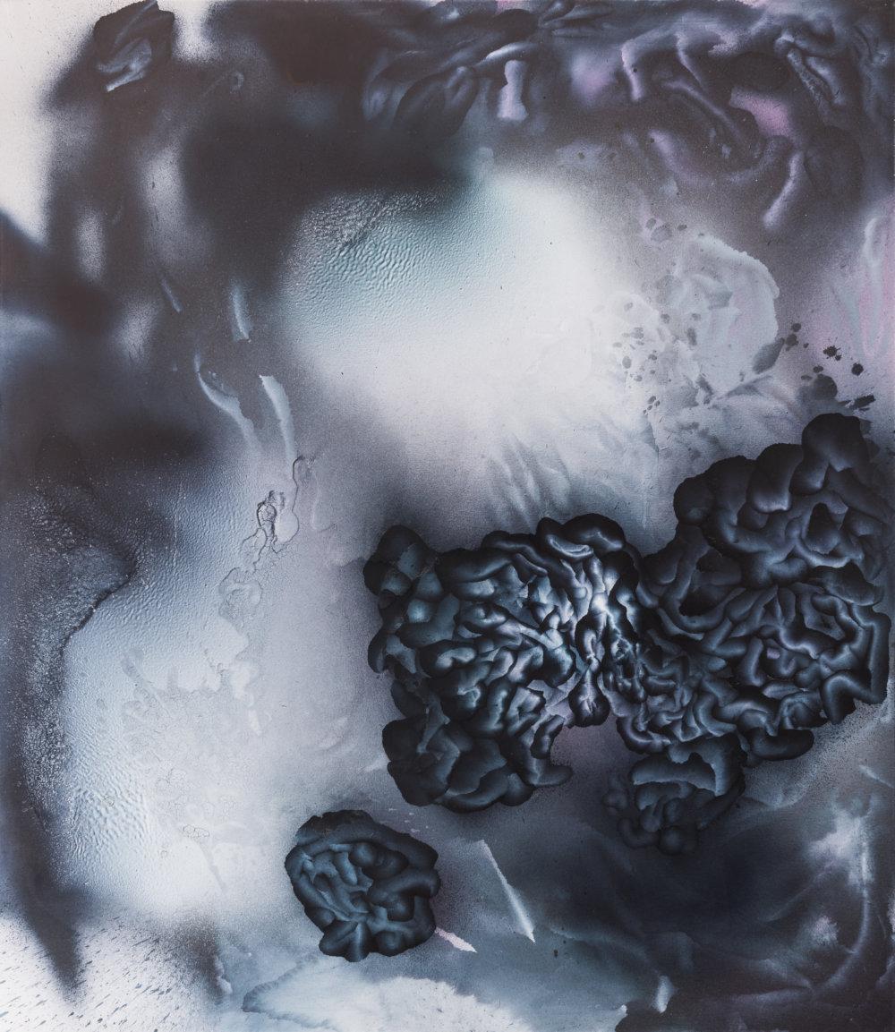 Dark Mystic, 190 × 165 cm, akryl na plátne, 2010, foto Peter Čintalan