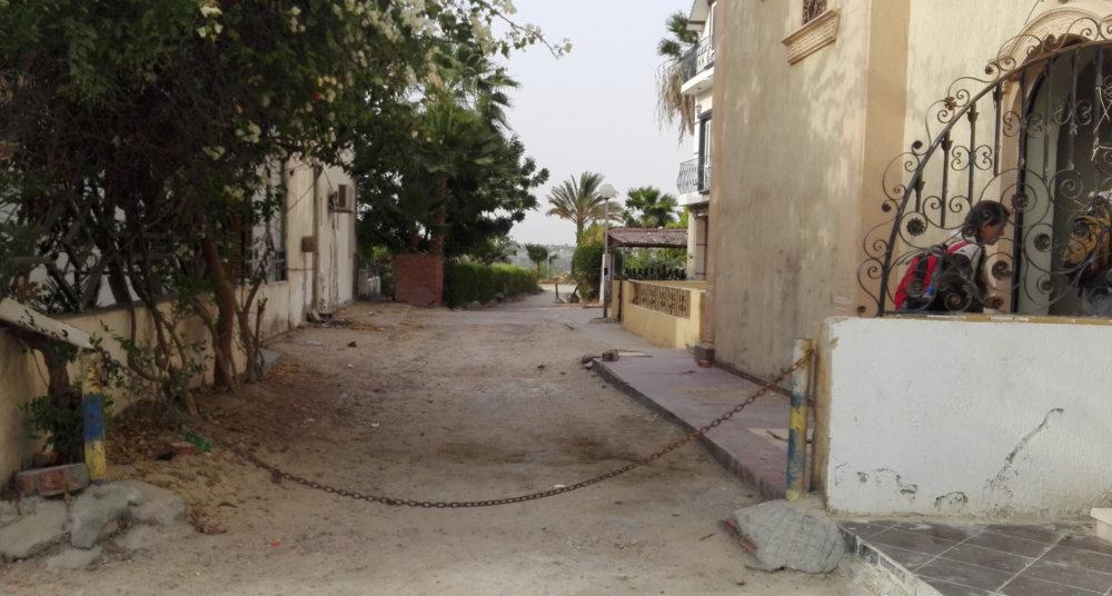 Vstup do bytu expedície. Foto - Nadácia Aigyptos