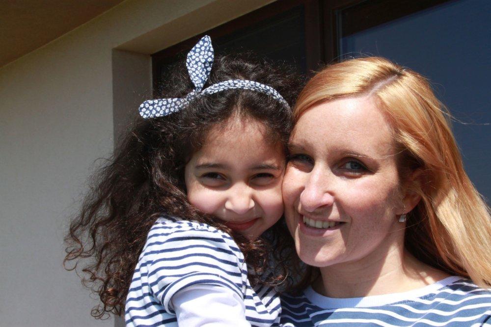 Alenka s mamou Katkou. Foto – Karol Sudor