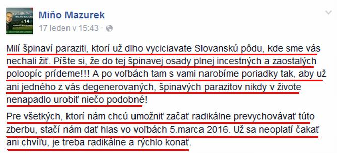 Mazurek 17.1.16