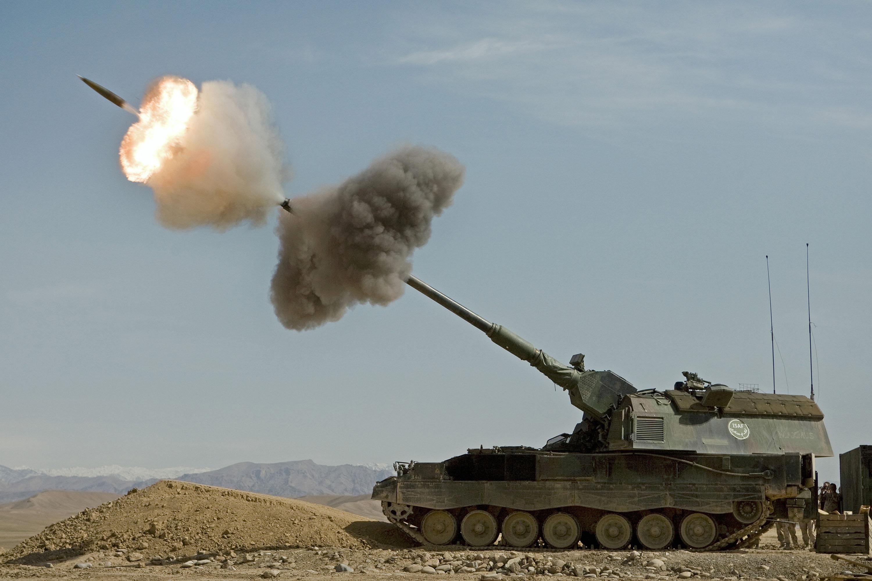Panzerhaubitze 2000. Foto - Wikipedia