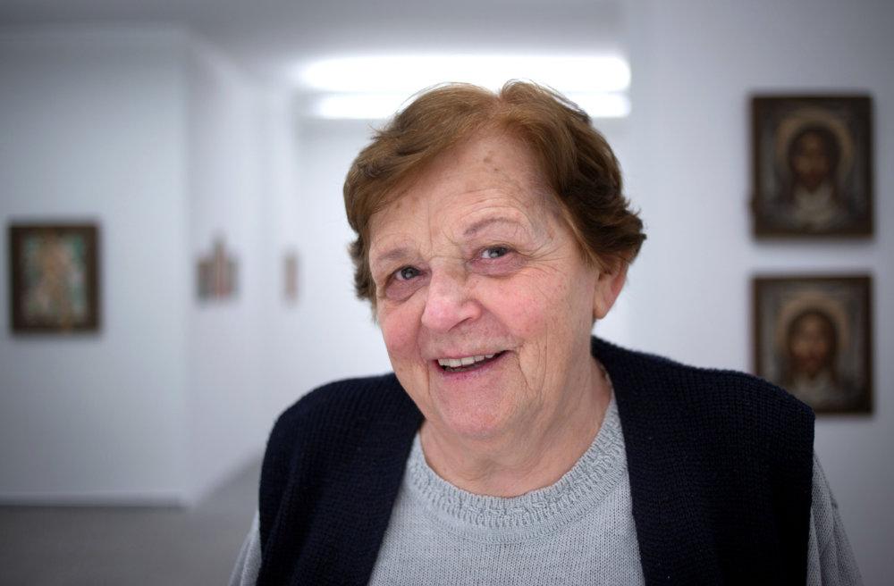 Reštaurátorka Dorota Filová. Foto N - Tomáš Benedikovič