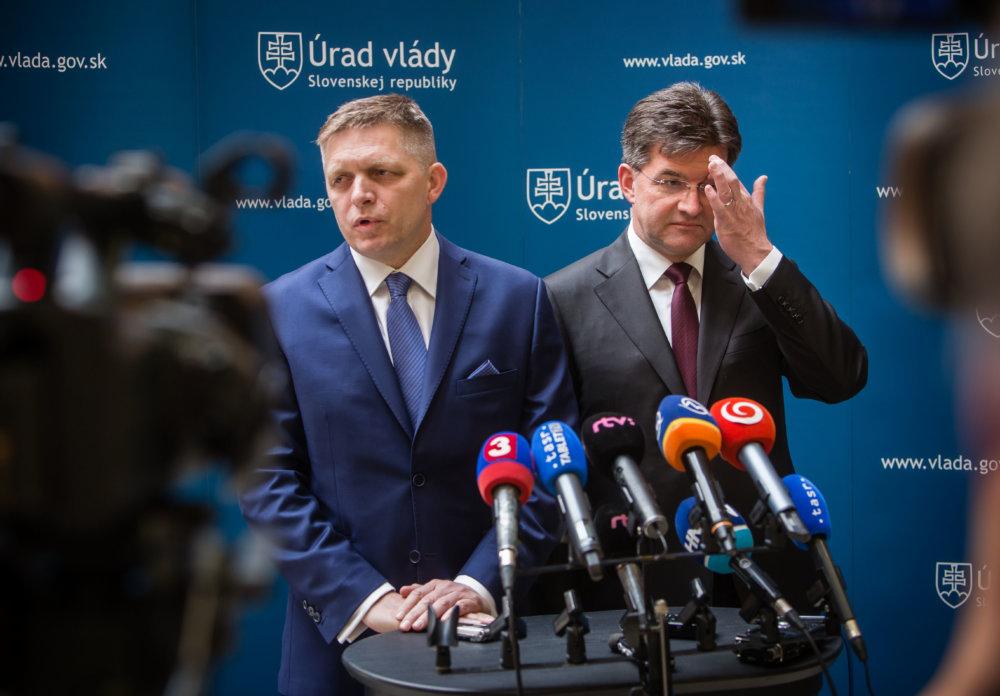 Premiér a šéf diplomacie. foto N - Tomáš Benedikovič
