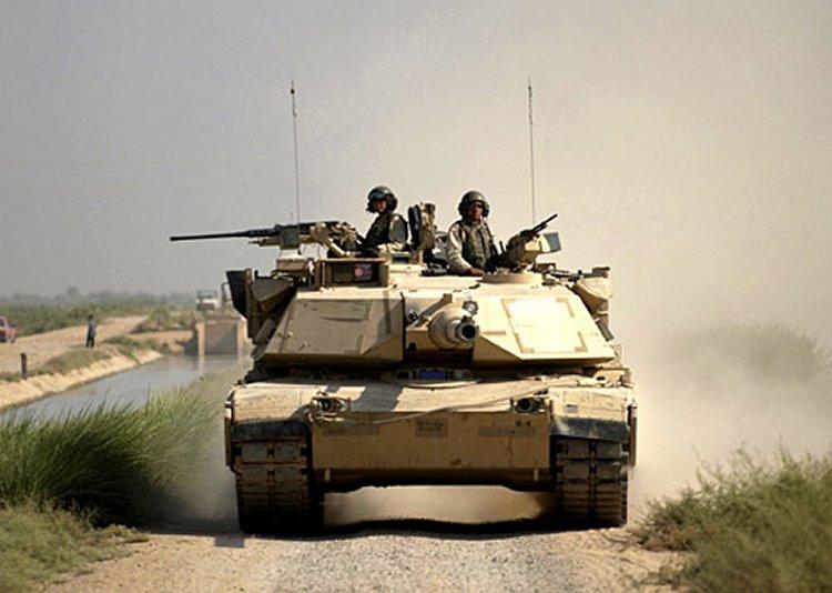 Americký tank M1A1 Abrams počas nasadenia v Iraku. Foto - Wikipedia
