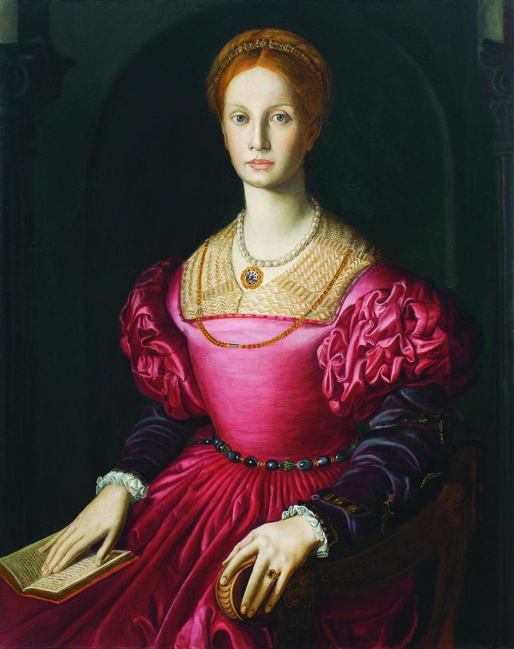 Dorota Filová: Kópia obrazu Bronzina Lucrezia Panciatichi, 2001.
