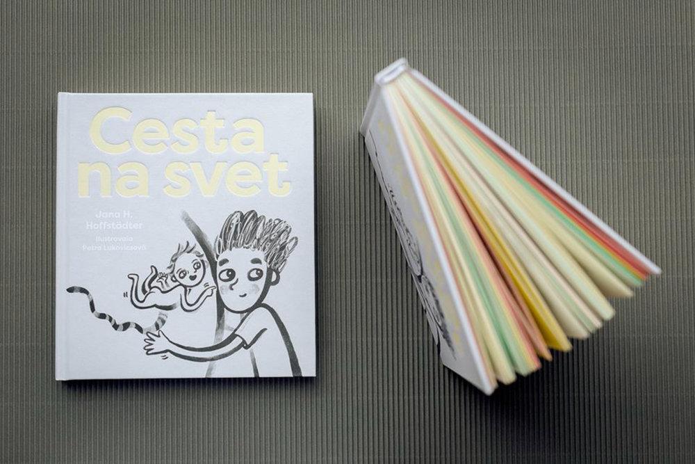 Cesta na svet - kniha pre deti o tom, ako prichádzajú na svet.
