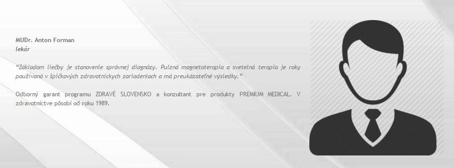 Lekára Antona Formana ponúkala stránka firmy ako odborníka. Po tom, čo sme vyslovili podozrenie, že taký lekár neexistuje, údaje zo stránky v priebehu minút zmizli. Foto - premium-medical.sk
