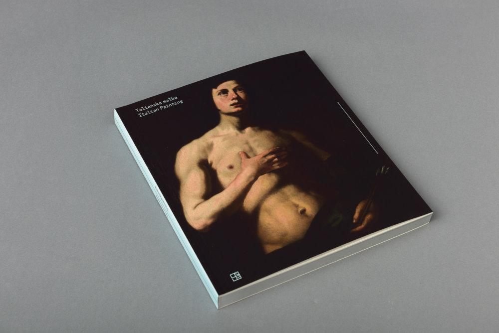 Katalóg k výstave Talianska maľba.