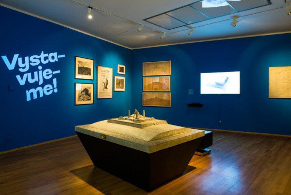 Boris Meluš spolupracoval aj pri príprave výstavy Uchovávanie sveta.