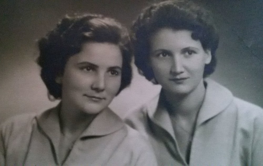 Mária so sestrou. Foto - Post Bellum
