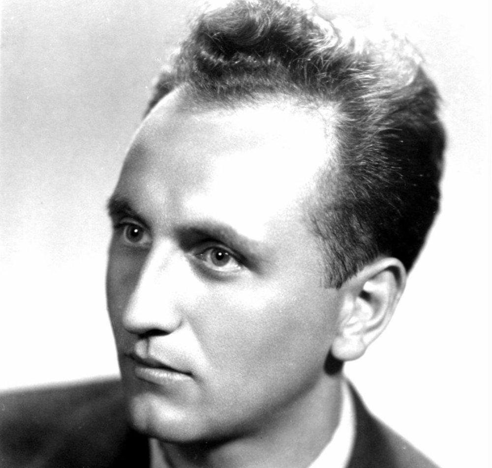 Dušan Hrnčiřík v roku 1957. Foto - Post Bellum