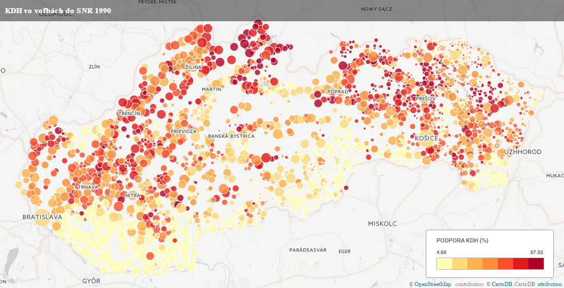 Zdroj údajov: Slovenský archív sociálnych dát SAV