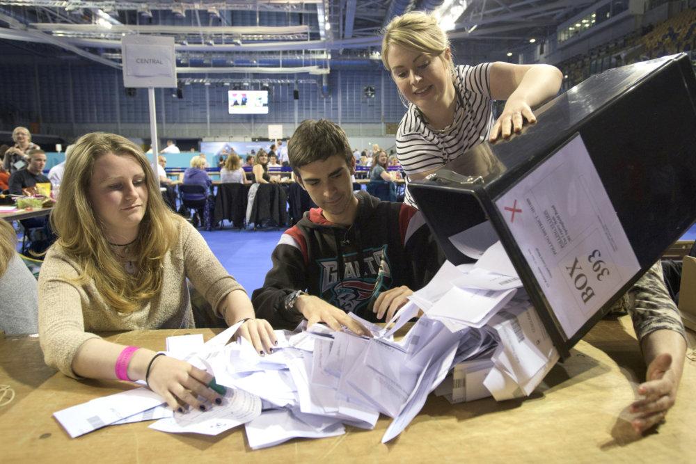 Výsledok volieb Slovákov v Británii skôr sklamal. foto - TASR/AP