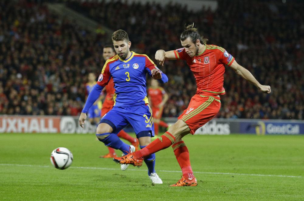 Najväčšou hviezdu Walesu je Gareth Bale. Foto - TASR