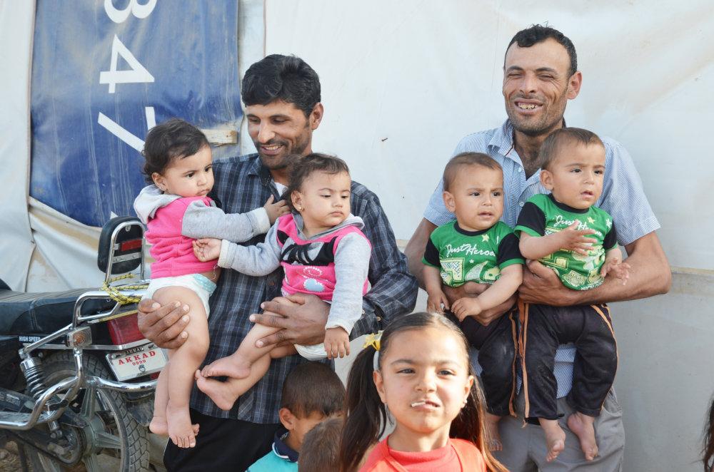 V utečeneckom tábore. FOTO - MIREK TÓDA