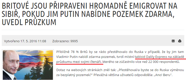 Sibir Daily mail 22 tisic britov chce na sibir, pritomje to 22.tisi citatelov aeronet (2)