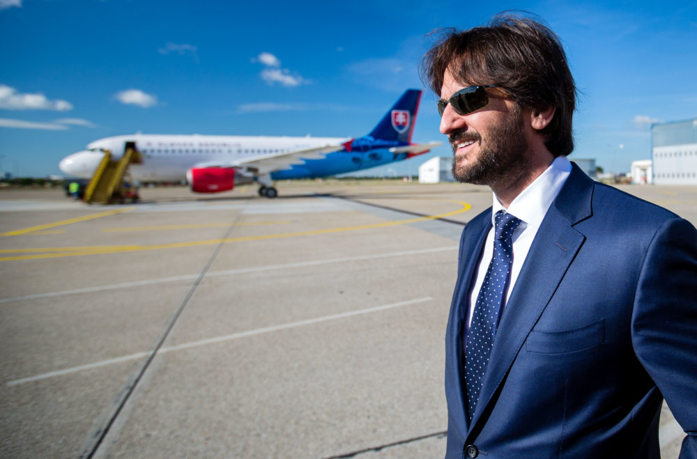 Minister vnútra a jeho letka. Foto N - Tomáš Benedikovič