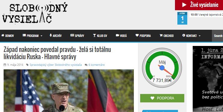 Západ nakoniec povedal pravdu – želá si totálnu likvidáciu Ruska – Hlavné správy Slobodný vysielač