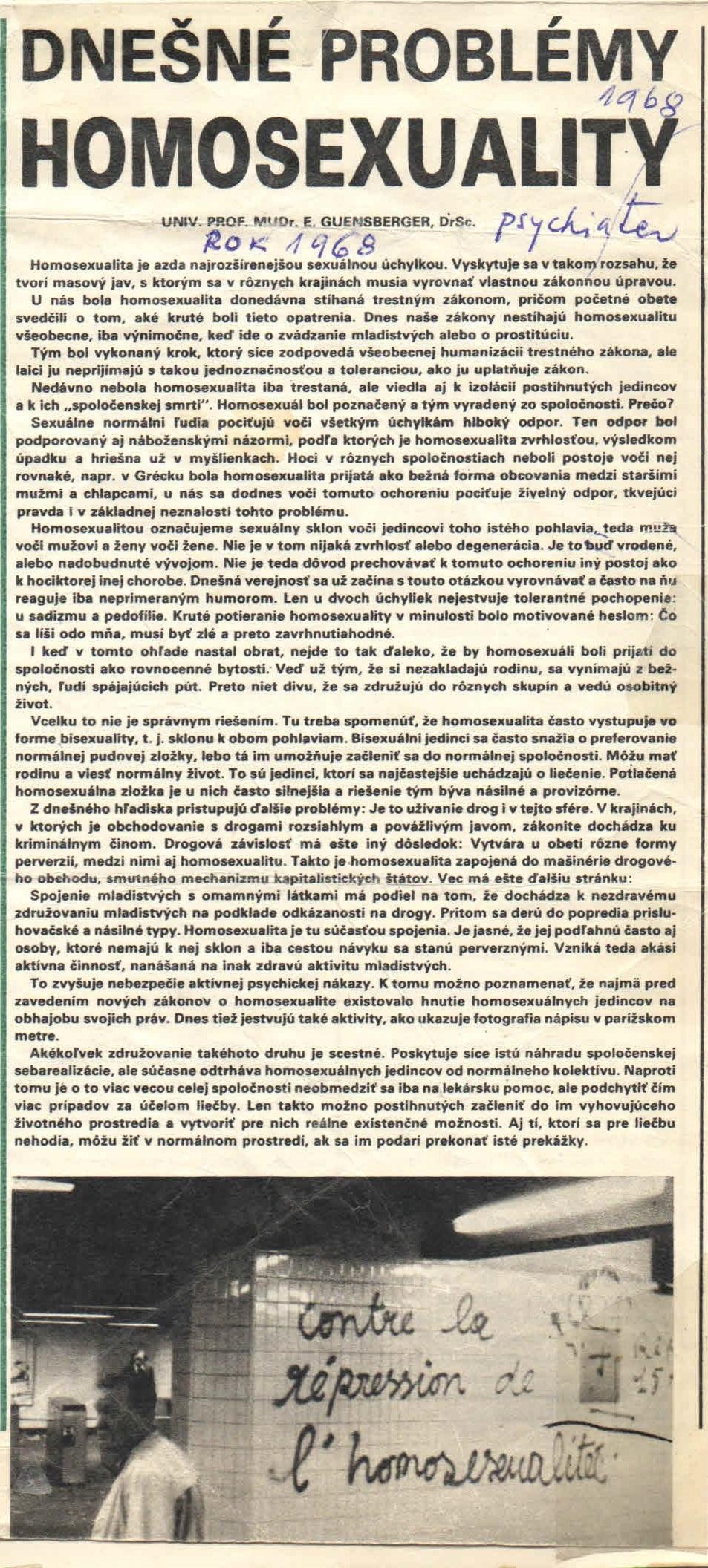 Zdroj - archív Iniciatívy Inakosť - zozbieral Ján Majerský