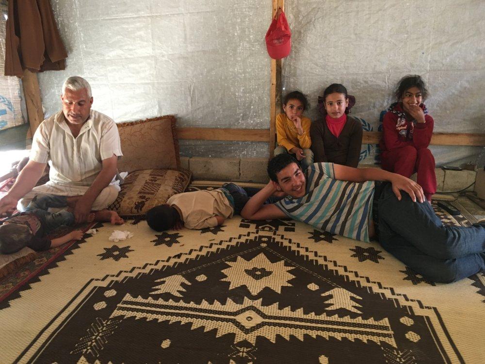 Sulaf a jej rodina. FOTO - MIREK TÓDA