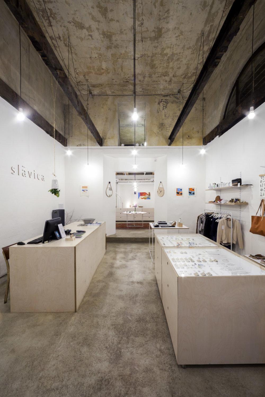 Obchod Slávica. Foto - Tomáš Manina