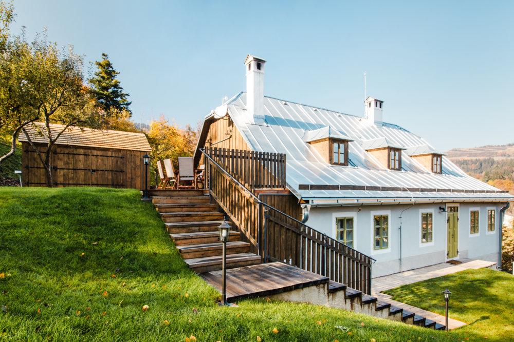 Rekonštrukcia baníckeho domu. Foto - Martin Šveda