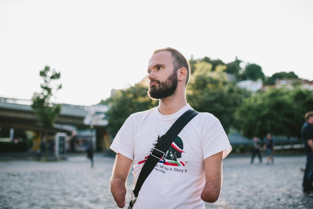 Foto – Jakub Čaprnka a Nora Sapárová