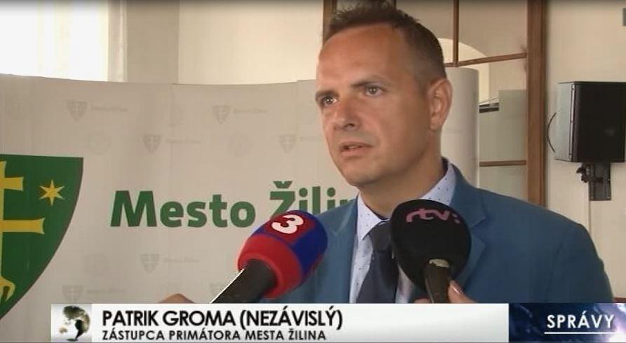 Patrik Groma, 1. viceprimátor