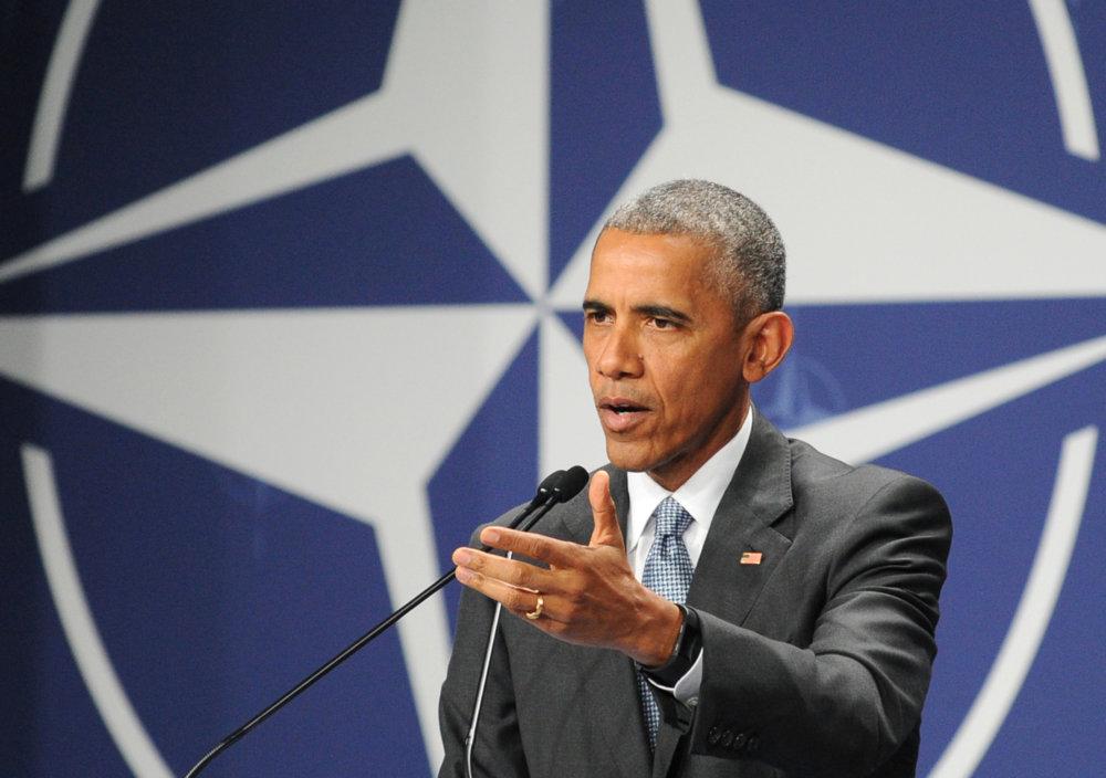 Slová Baracka Obamu poľská štátna televízia prekrútila. Foto - tasr/ap