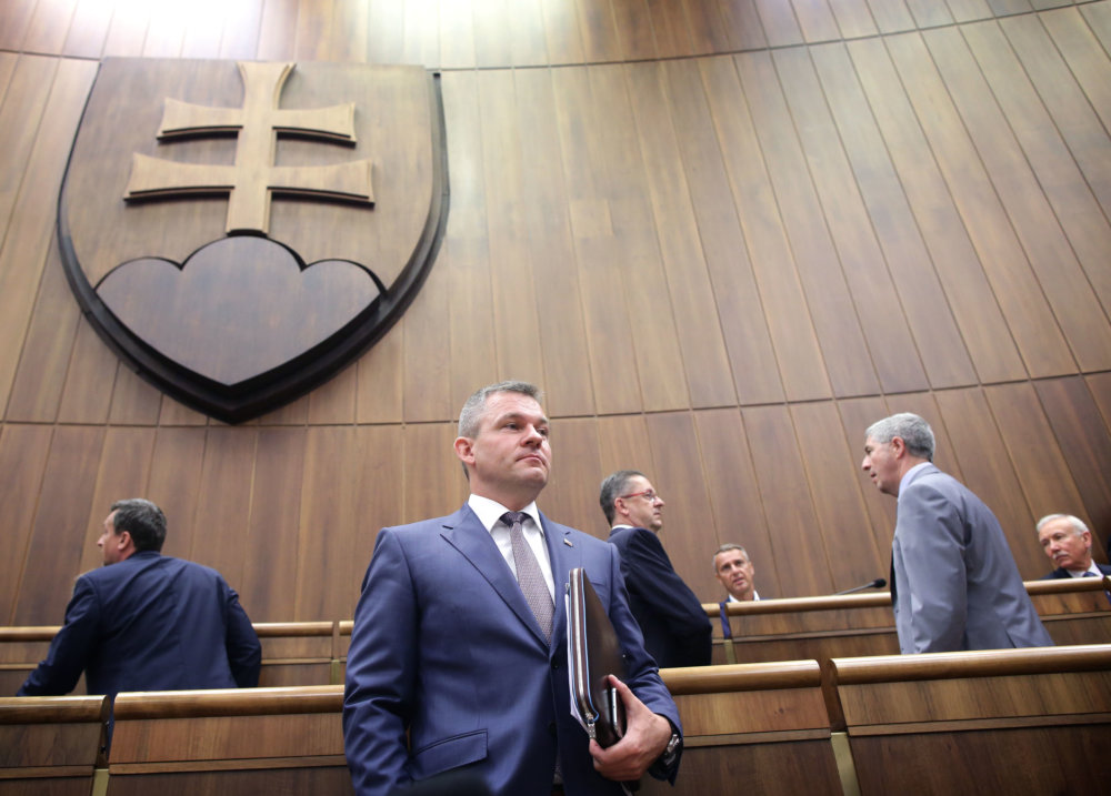 Peter Pellegrini. Foto N - Tomáš Benedikovič