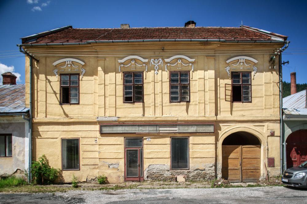 Bývalá Banská komora v Smolníku. Foto N - Tomáš Benedikovič